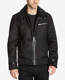 GUESS Men's Aviator Jacket