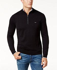 Michael Kors Men's Quarter-Zip Sweater