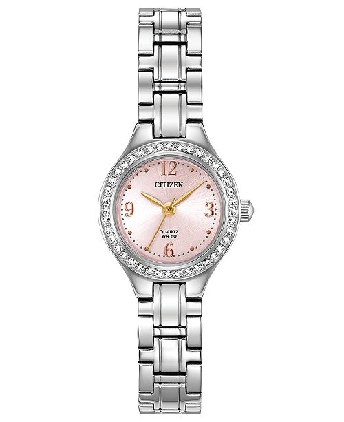 Citizen Women's Quartz Stainless Steel Bracelet Watch 22mm, Created for Macy's