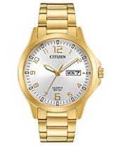 d82d0244b31 Citizen Men s Quartz Gold-Tone Stainless Steel Bracelet Watch 40mm