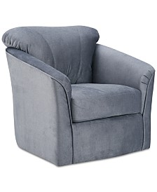 Abigail Swivel Chair, Quick Ship