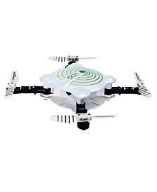 Protocol Dot Folding Live-Streaming Drone