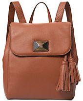 DKNY Alix Medium Flap Backpack, Created for Macy's
