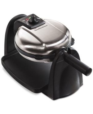 Hamilton Beach Removable Grid Belgian Waffle Maker
