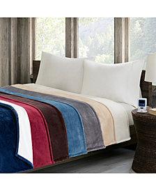 Woolrich Heated Plush Berber Blankets