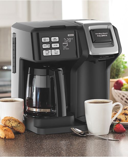 Hamilton Beach Flexbrew 2 Way Coffee Maker Reviews Coffee Tea