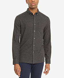 Kenneth Cole Reaction Men's Striped Flannel Shirt