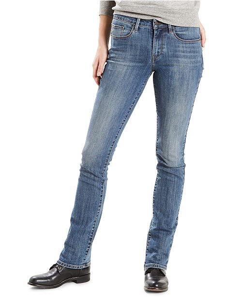 Mid-Rise Skinny Jeans Short and Long Inseams