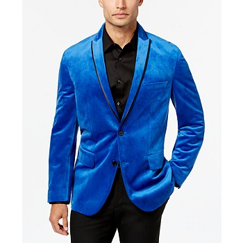Inc International Concepts Men's Rex Classic-Fit Velvet Blazer
