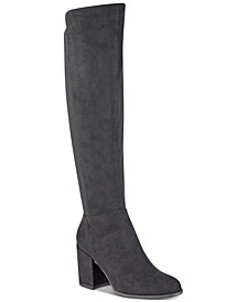 Marc Fisher Lacole Block-Heel Boots
