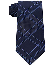 Kenneth Cole Reaction Men's Mars Plaid Tie