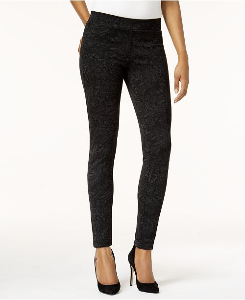6ec4d8103de72 Style & Co Printed Leggings, Created for Macy's & Reviews - Pants ...