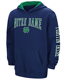 Colosseum Notre Dame Fighting Irish Zone Pullover Hoodie, Big Boys (8-20)