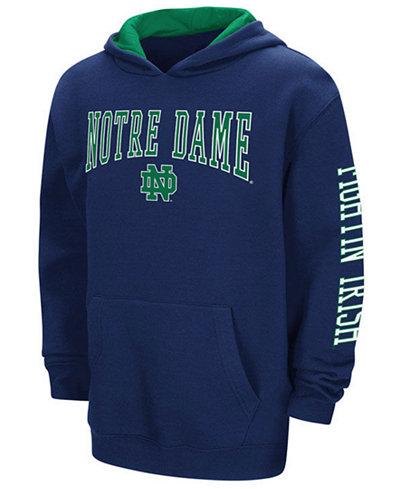 Colosseum Notre Dame Fighting Irish Zone Pullover Hoodie, Big Boys (8-20)