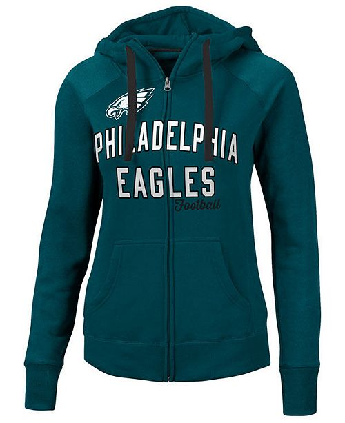 G-III Sports Women's Philadelphia Eagles Conference Full-Zip Jacket