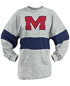 Pressbox Women's Ole Miss Rebels Morehead Sweeper Long Sleeve T-Shirt