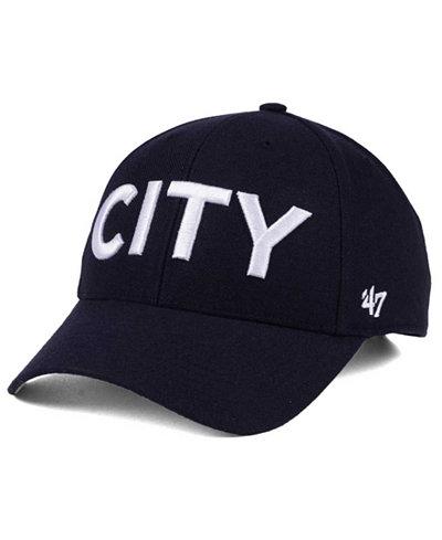 '47 Brand Manchester City Club Team Script MVP Cap