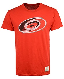 Retro Brand Men's Carolina Hurricanes First Line Logo T-Shirt