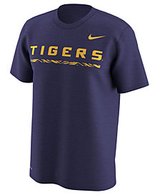 Nike Men's LSU Tigers Fresh Trainer Hook T-Shirt