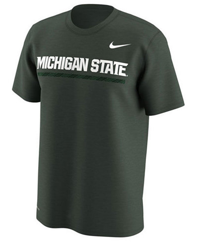 Nike Men's Michigan State Spartans Fresh Trainer Hook T-Shirt B2SeKEY4