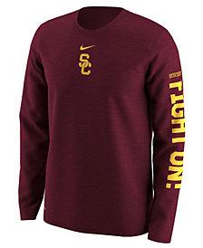 Nike Men's USC Trojans Fresh Trainer Hook Long Sleeve T-Shirt
