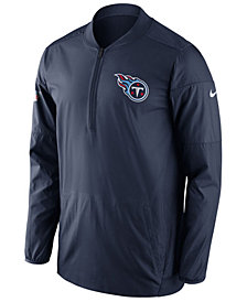 Nike Men's Tennessee Titans Lockdown Quarter-Zip Jacket