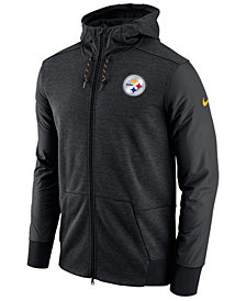 Nike Men's Pittsburgh Steelers Travel Full-Zip Hoodie