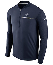 Nike Men's Dallas Cowboys Coaches Quarter-Zip Pullover