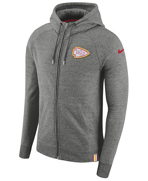 hot sales 24d6f 4aa4e Nike Men's Kansas City Chiefs Full-Zip Hoodie & Reviews ...
