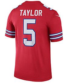 Nike Men's Tyrod Taylor Buffalo Bills Legend Color Rush Jersey