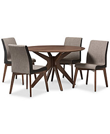 Faryn 5-Pc Dining Set, Quick Ship