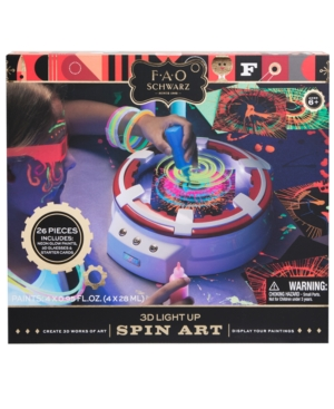 Fao Schwarz Led 3D Spin Art