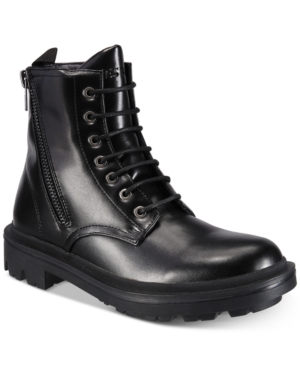 Guess  MEN'S ARCHIBALD COMBAT BOOTS MEN'S SHOES