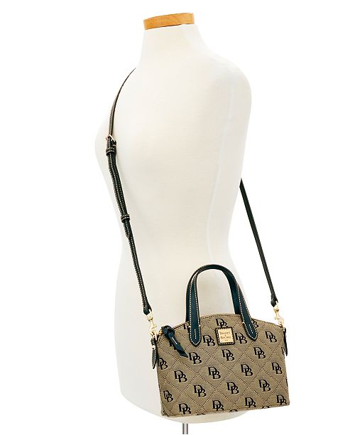 Dooney Bourke Signature Quilt Ruby Small Bag Created For Macy S Handbags Accessories