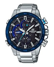 G-Shock Men's Solar Analog-Digital Stainless Steel Bracelet Watch 54mm