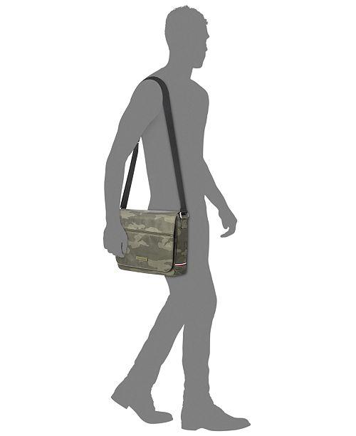 06551a51da2d Tommy Hilfiger Men s Camo Messenger Bag   Reviews - All Accessories ...