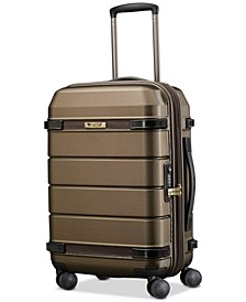 "Century 21"" Hardside Expandable Carry-On Spinner Suitcase"