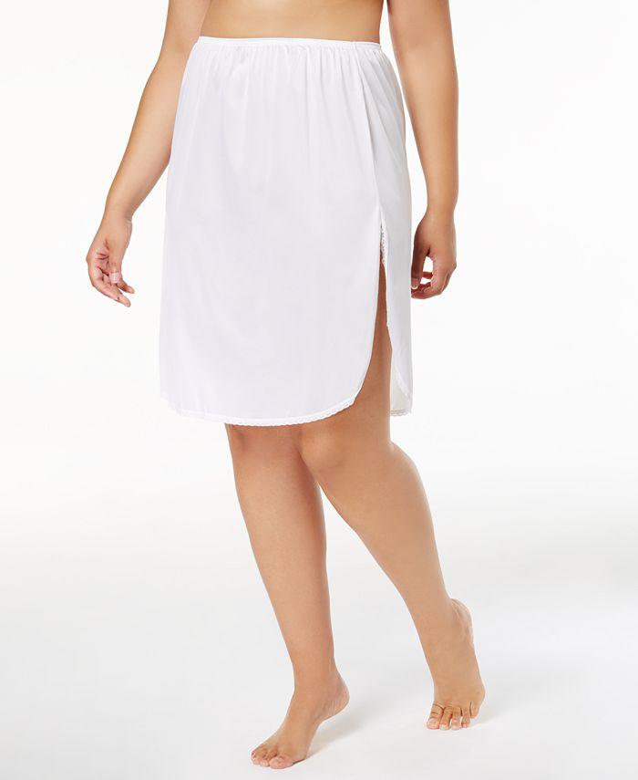 """Vanity Fair - Plus Sizes """"Daywear Solutions"""" 360 Half Slip"""
