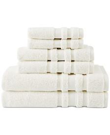 "CLOSEOUT! Charisma Luxe 30"" x 58"" Cotton Bath Towel"