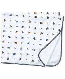 Ralph Lauren Reversible Bear Printed Blanket, Baby Boys