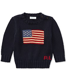 Ralph Lauren Cotton Sweater, Baby Boys