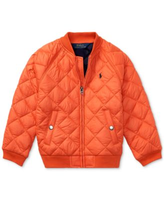 Ralph Lauren Diamond-Quilted Baseball Jacket, Little Boys (4-7)