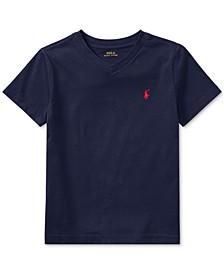 Little Boys Cotton Jersey V-Neck T-Shirt
