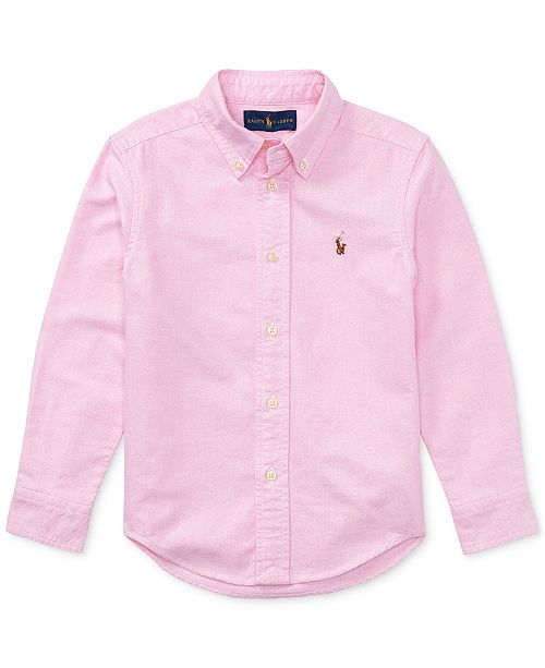 f7395ed48b4c Polo Ralph Lauren Toddler Boys Blake Oxford Shirt & Reviews - Shirts ...
