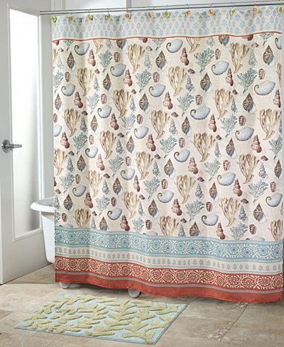 Avanti Seabreeze Shower Curtain