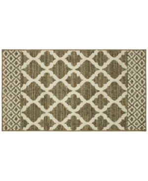 Mohawk Moroccan Lattice 30 x 45 Bath Rug Bedding
