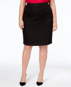 Nine West Plus Size Sequined...