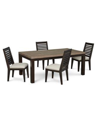 Lexington Dining Furniture, 5-Pc. Set (Leg Table & 4 Side Chairs)