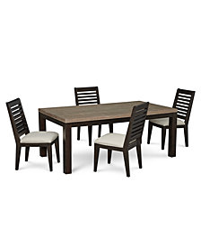 Lexington Dining Furniture, 5-Pc. Set (Leg Table & 4 Side Chairs)
