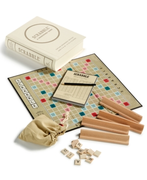 Winning Solutions Scrabble Vintage Bookshelf Edition Board Game